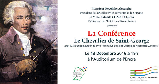 Blada Chevalier De Saint George Confrence Et Concert