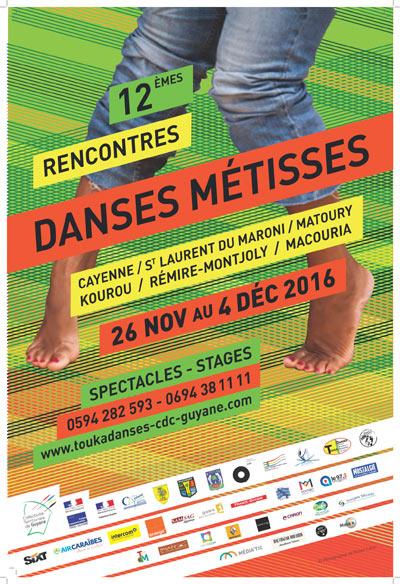 Jusqu'au dimanche 04/12/16 - Guyane Rencontres Danses métisses