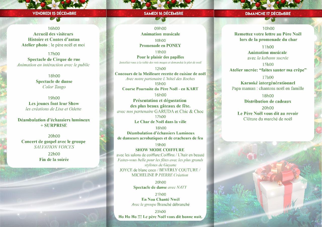 marché de noel cayenne 2018 Blada.  Grand Marché de Noël de Kourou marché de noel cayenne 2018
