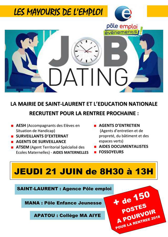 job dating pole emploi lyon